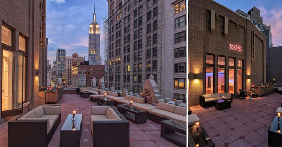 Rooftop Top New York - Toshi's Penthouse